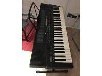 Yamaha PSR-215 Keyboard with stand