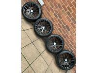 "5x112 20"" ISPIRI ISR10 Alloys wheels Audi A4 A5 A6 TT Vw Golf Caddy Scirocco Passat Mercedes"