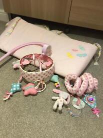 Mothercare Butterfly Fields Baby Girl Nursery Items