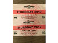 Goodwood Festival of Speed tickets -Free