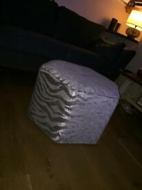 Hexagonal foot stool