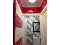 New toilets/bath/shower/tilling installer