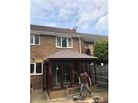 Convert a cold conservatory, bespoke tiled or GRP roofs, and lanterns by Professional Trades People