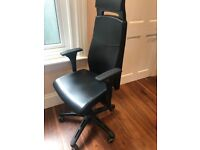 Ikea Volmar Swivel Office Chair with Armrests