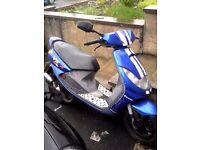 50cc moped peugeot vivacity vsx sport 2 stroke