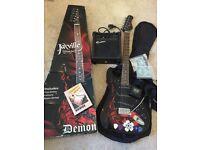 Jaxville electric guitar kit