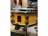 Mapex black panther snare drum for sale.