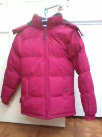 Lovely warm padded coat size 8