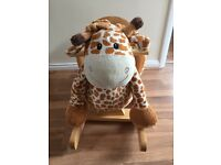 Musical giraffe rocker £12