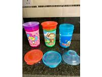 Nuby 360 No Spill Wonder Baby/Toddler Cups