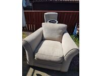 chair recliner and footstool