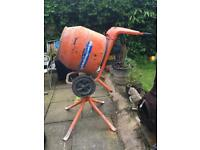 belle cement mixer 240v