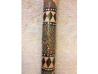 wooden didgeridoo