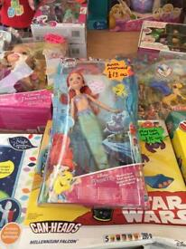 Singing Ariel the mermaid doll