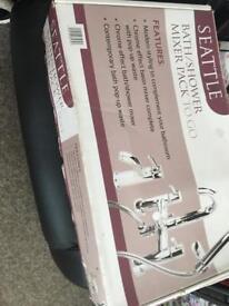 Bath shower mixer pack