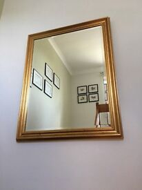 Large wall mirror