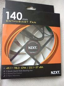 NZXT 140mm Enthusiast Computer Fan