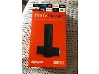 firestick 4k ultra hd with Alexa voice remote