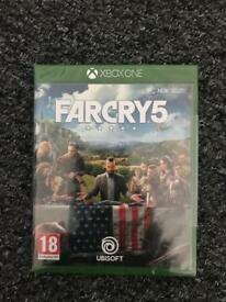 Far Cry 5 XBOX ONE. UNOPENED AND SEALED