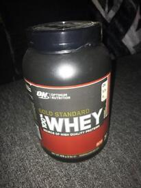 Gold Standard 100% Whey Protein.