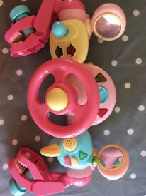 Elc girls buggy toy