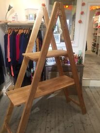 Wooden Shelving Display Unit