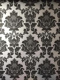 Damask Wallpaper rolls *SSTC*
