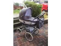Bebecar Stylo Class - Carrycot and Pushchair