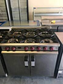 commercial 6 burner gas cooker vulcan,catering equipment