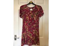 Miss Selfridge Vintage Style Dress- Size 10