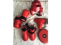 Taekwondo sparring equipment