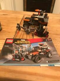 Lego superhero set