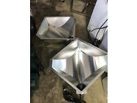 Cheshunt Hydroponics Store - used Ecotechnics Diamond reflector shade for grow lights