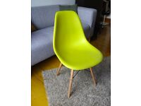 Eames Dining Chair: Mustard