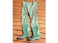 New size 8uk chest waders