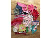 12-18 month baby girl clothes bundle job lot