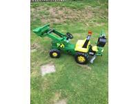 Kids ride on tractor ( John Deere )3-6 yrs