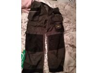 Mens snickers work trousers
