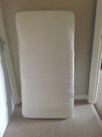 John Lewis Cot bed mattress