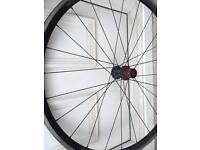 Hand built racing bike wheels