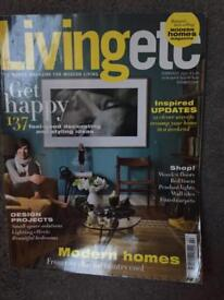 Collection of Living Etc magazines