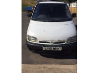 NISSAN VANETTE FOR SALE 51 PLATE £650.00 ono