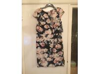 Floral Phase Eight dress size 14