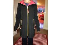 "Coat: ""Ilse Jacobson"" water repellant coat beautiful condition"