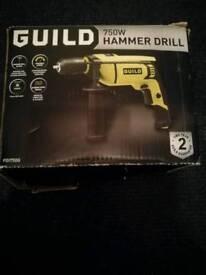 GUILD 750W HAMMER DRILL