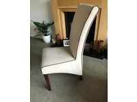 Barker and Stonehouse Statement Dining Room Chairs x4 (Chairs Only)