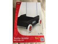Brio Toddler Wobbler - Black (Baby Walker)
