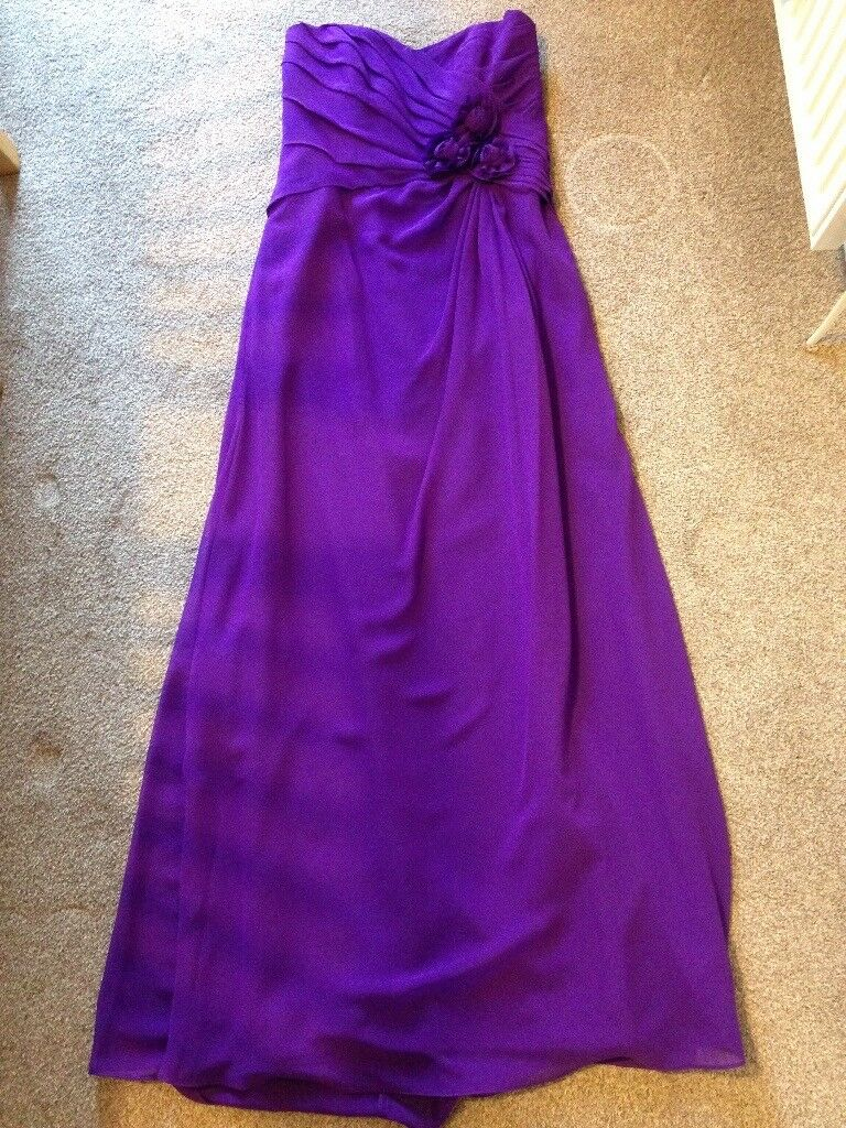 BRAND NEW ALFRED ANGELO BRIDESMAID DRESS IN VIOLA UK SIZE 26   in ...