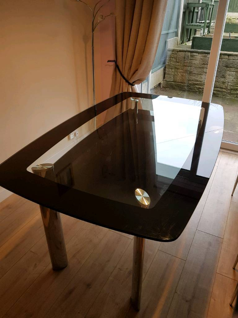 Large glass Dining table (No Chairs)