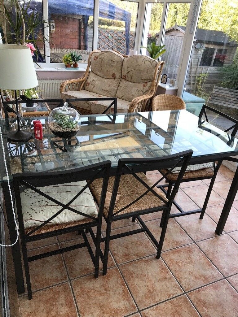 Pleasant Ikea Granas Table And 6 Chairs In Halesowen West Midlands Gumtree Beutiful Home Inspiration Aditmahrainfo